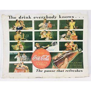 1939 Magazine Coca-Cola Coke Advertisement